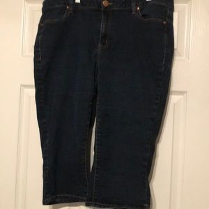 Lane Bryant Crop Jean